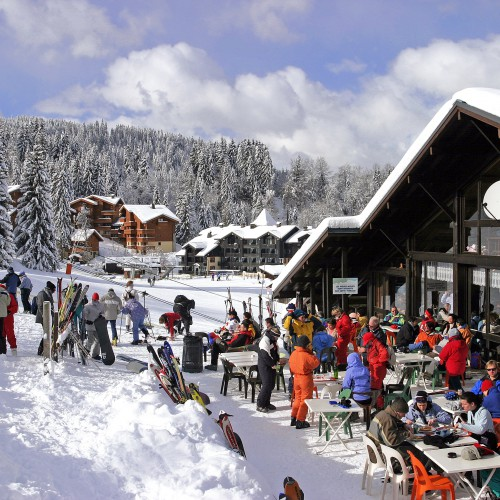 Berg restaurant Le Grand Massif