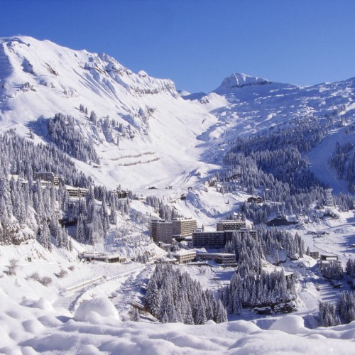 Flaine skiresort
